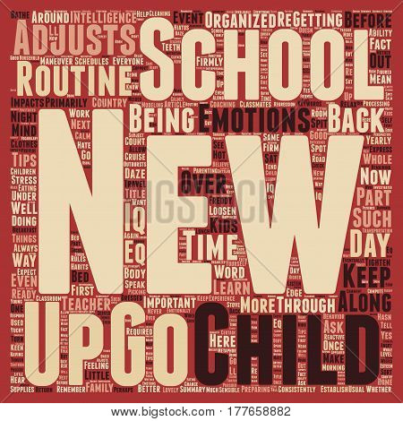 Are You In A School Daze text background wordcloud concept
