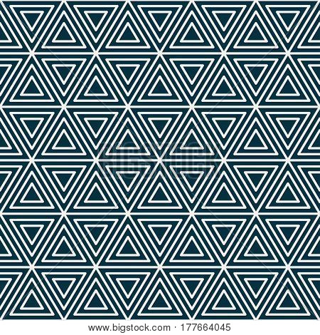 Geometric seamless pattern. Vintage striped repeatable background.