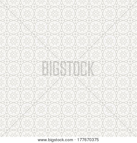Ancient ornamental pattern - a seamless vector background.