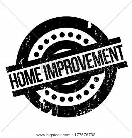 Home Improvement rubber stamp. Grunge design with dust scratches. Effects can be easily removed for a clean, crisp look. Color is easily changed.