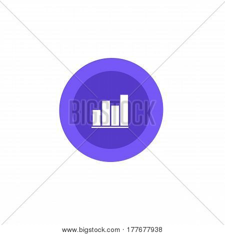 Icon Revenue Growth, Vector, Flat Design, Elements