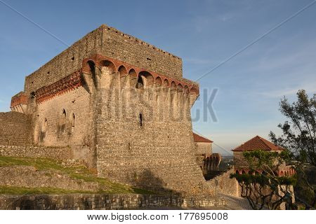 Castle of Ourem, Estremadura, Portugal on a sunny day