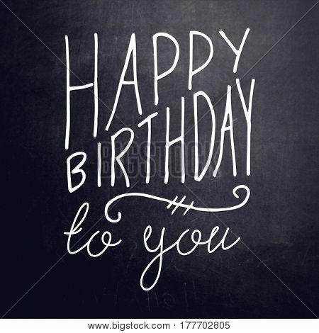 Quote - Happy Birthday to you