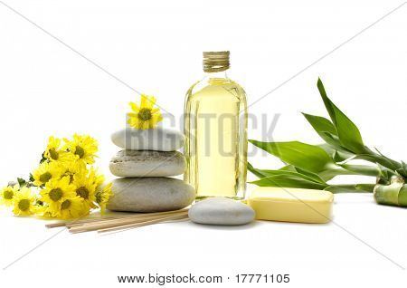 Wellness and relax, spa and aroma therapy setting