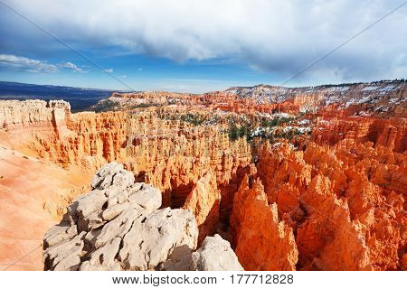 Beautiful landscape of Bryce Canyon National Park in Utah, USA