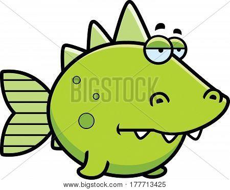 Bored Prehistoric Fish
