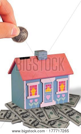 Putting your  money into this old house.