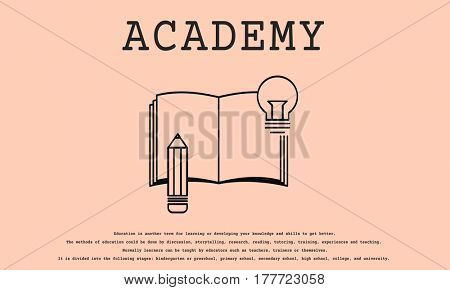 Academy learning wisdom knowledge education