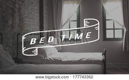 Home Bedroom Sleep Peace Morning Word