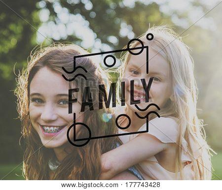 Family Sisterhood Sibling Together Love