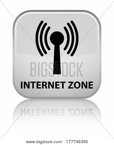 Internet Zone (wlan Network) Special White Square Button