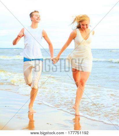 Running Couple Vacation