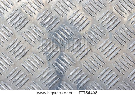 Silver Steel With Shiny Metallic Texture Background
