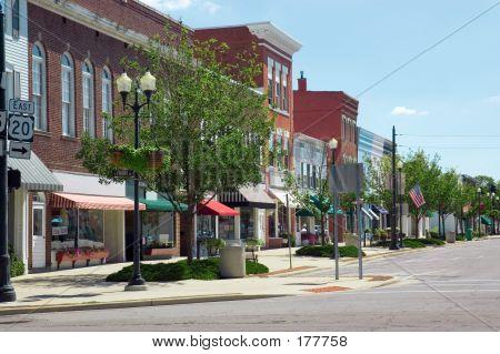 Small Town Estados Unidos da América