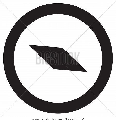 clock icon vector time flat hour isolated timer late