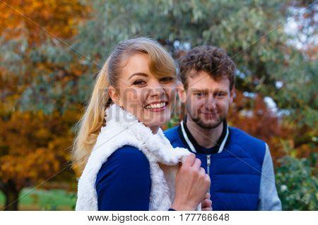 Couple In Love Enjoy Romantic Date