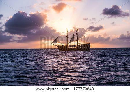 Sailing Yacht, Cruise On A Catamaran