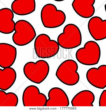 Heart Backgrounds For Saint Valentine Holiday, High Definition Design