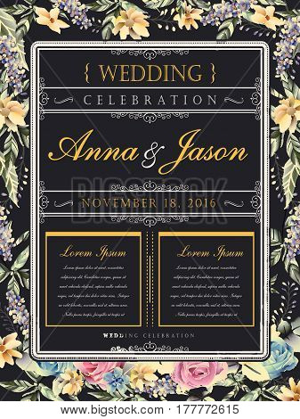 Wedding Celebration Poster