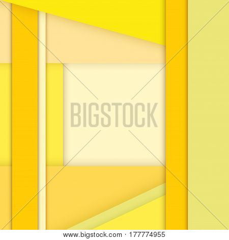 Color Background Unusual modern material design. Square format. Abstract Illustration.