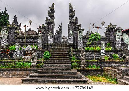 View Of  Pura Besakih Temple, Bali, Indonesia
