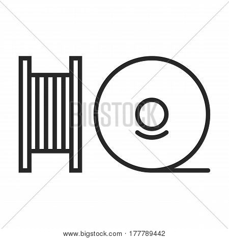 Fishing Line Vector Icon