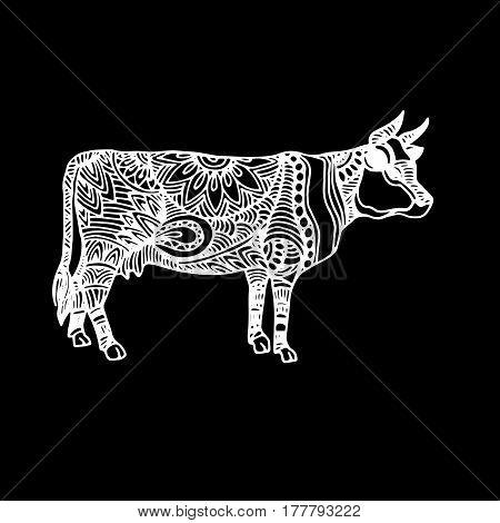 cow, vector, cartoon, farm, cute, illustration, milk, cattle