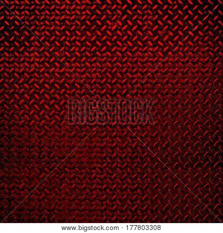 rusty red diamond plate background
