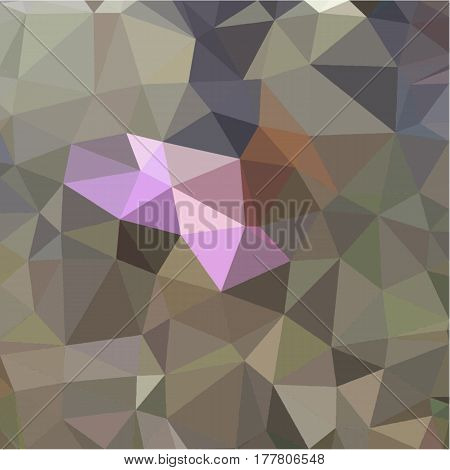 Abstract background of small triangles polygon blue and pink and green fragments light and dark sharp throughout the drawing