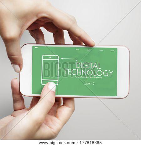 Mobile Phone Application Digital Technology Communication