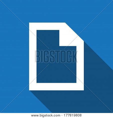 file icon stock vector illustration flat design