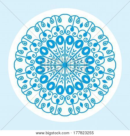 Henna tattoo mehndi flower template doodle ornamental lace decorative element and indian design pattern paisley arabesque mhendi embellishment vector. Traditional decorative mandala element.