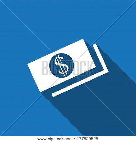 money icon stock vector illustration flat design