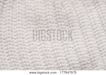 highly detailed soft contrast white knitwear background