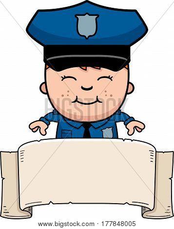 Police Officer Banner