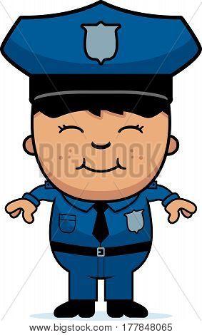 Boy Police Officer