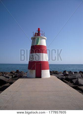 lighthouse algarve portugal