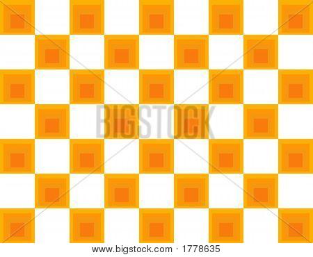 Op Art Homage To Ja Orange