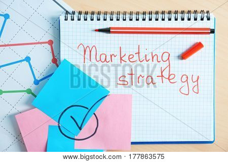 Set of stationery on table. Marketing concept
