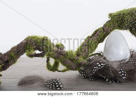 Selenite Egg In Nest