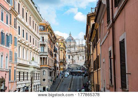 Via Di S. Maria Maggiore