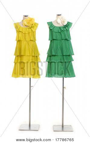 Mode Kleid auf Schaufensterpuppe