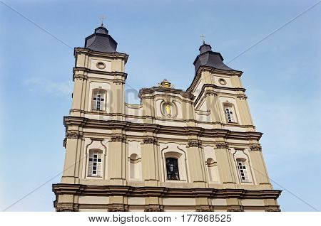 Greek Catholic Cathedral of the Holy Resurrection of Christ (The Jesuit Church 1754-1763)