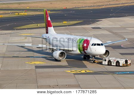 Airbus A319 Airplane