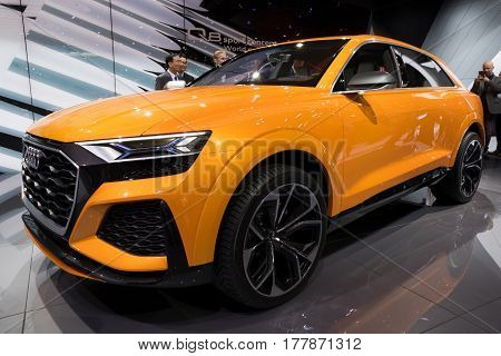New Audi Q8 Suv Car