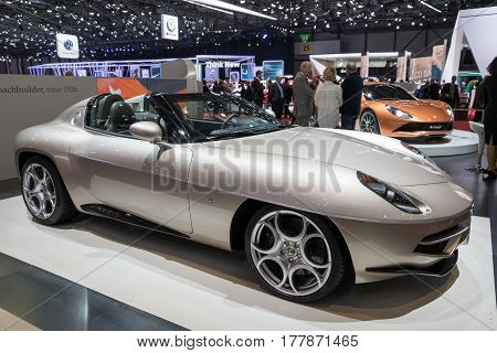 Touring Milano Alfa Romeo Disco Volante Sports Car