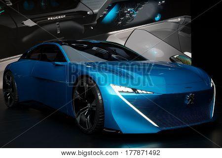 Peugeot Instinct Autonomous Concept Car