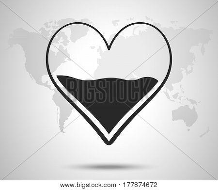 Heart Half Blood Vector Photo Free Trial Bigstock