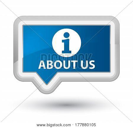 About Us Prime Blue Banner Button