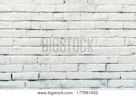 Wall Texture Old Bricks Of White Color